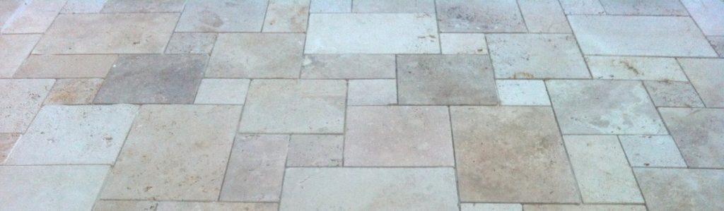 Pavimentazione in opus romano a 4 dimensioni