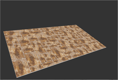 3d view of Indian sandstone pattern 4 sizes