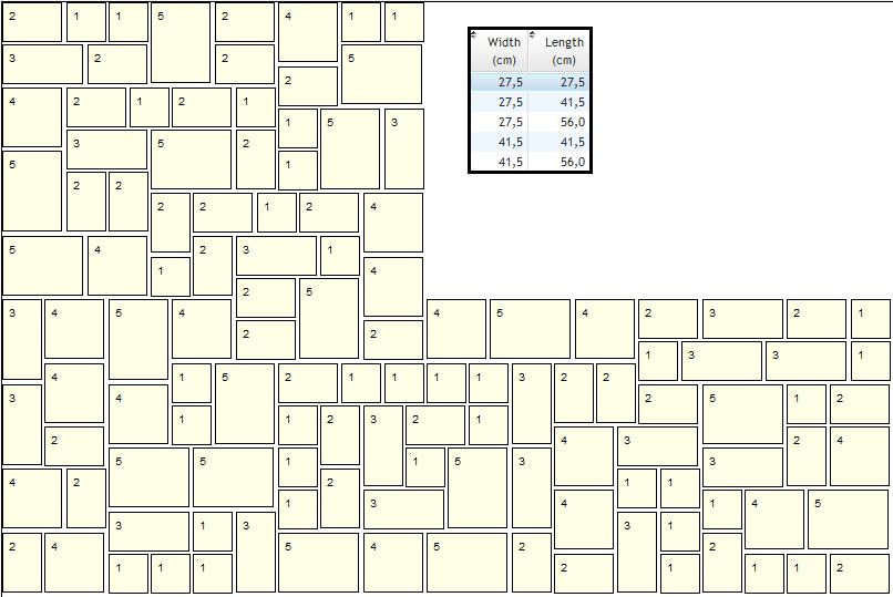 Indian sandstone patterns
