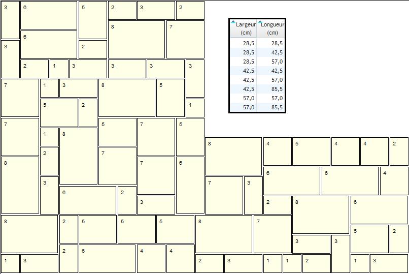 Autodalle Générateur De Dallage Opus Romain Multi Format