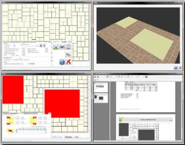 Autodalle logiciel de calepinage pour dallages multi-format