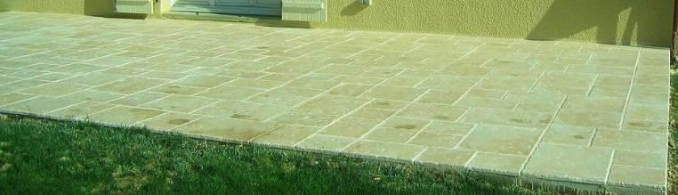 Dallage de terrasse conçu par AutoDalle